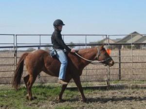 Riding Rosie Bareback