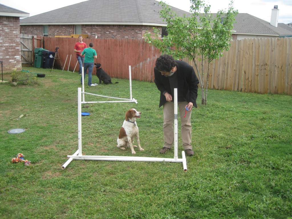 agility training jesus and ginger