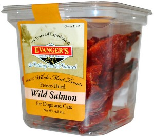 Evangers salmon treats from chewy.com
