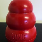 The Classic KONG. An excellent dog toy!