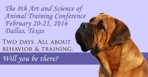 Art and Science of Animal Training Conference