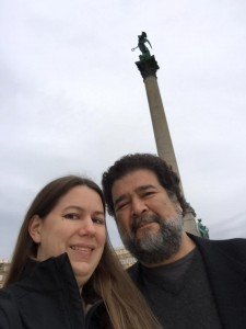 Mary Hunter and Jesus Rosales-Ruiz in Germany