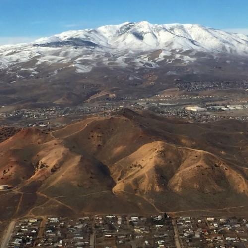 Mountains in Reno, Nevada