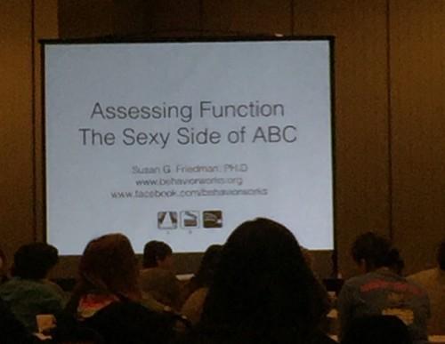 ClickerExpo - Susan Friedman functional analysis