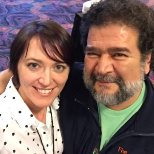 Dr. Jesus Rosales Ruiz and Hannah Branigan