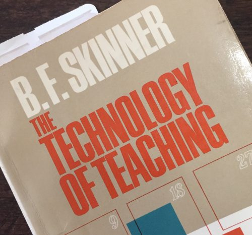 Technology of teaching book cover
