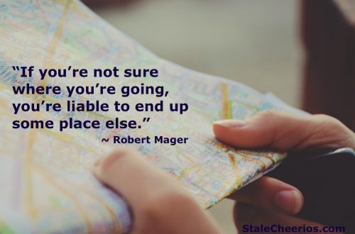 A quote from Robert Mager's Preparing Instructional Objectives